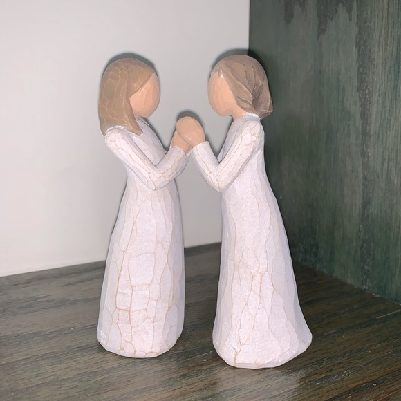 Vintage Willow Tree Sisters by Heart